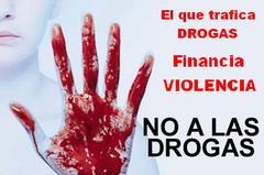 ¡DROGAS NO!