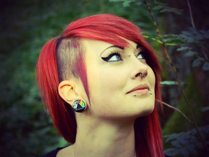 Modern Emo Hairstyles Girls 2014