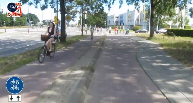 Um 'rolê' por uma ciclovia na Holanda