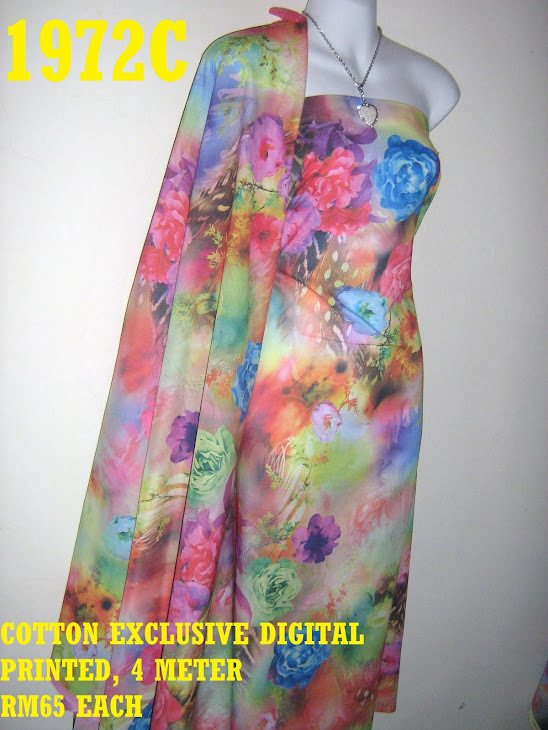 CDP 1972C: COTTON EXCLUSIVE DIGITAL PRINTED, 4 METER