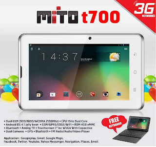 Mito T700, Android Fitur TV