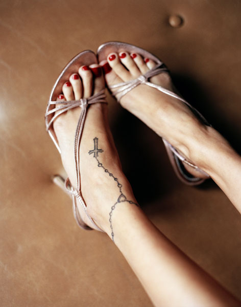 Mixer: Ankle Tattoos For Girls