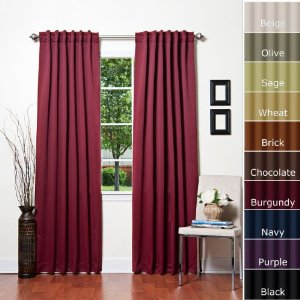 Comblackout Curtains For Kids Rooms : CLICK HERE to buy blackout curtains for kids rooms in BURGUNDY