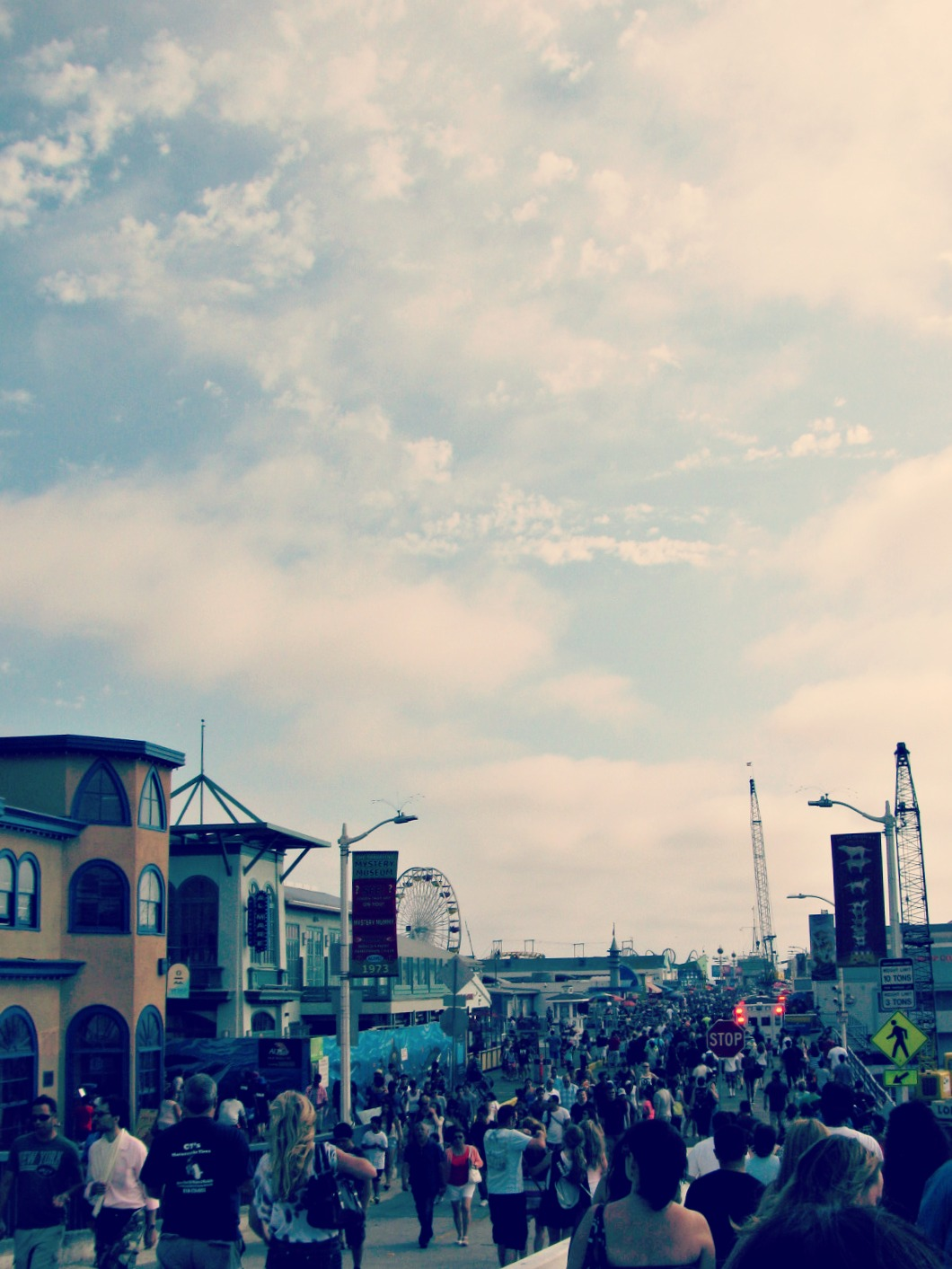 Santa Monica Boardwalk // Fourth of July Weekend