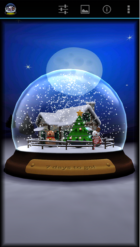 3D Christmas Advent Snowglobe Apk v1.2 Full version
