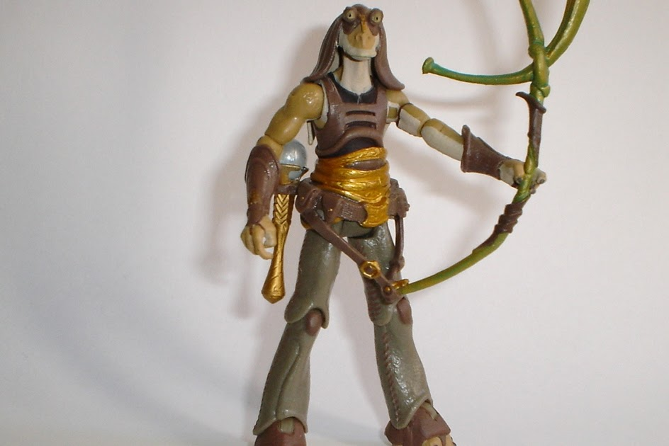 Figuras de Acción A Go-Gó: GUNGAN WARRIOR (STAR WARS: LEGACY COLLECTION)
