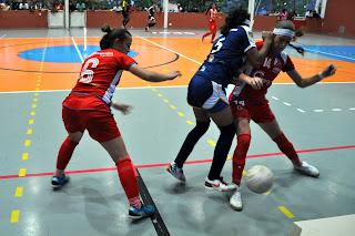 Programa de Jogos  - Futsal Feminino