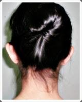 rambut sanggul pramugari