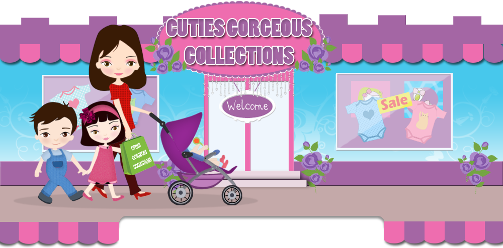 WELCOME  TO  CUTIES'  GORGEOUS  COLLECTIONS