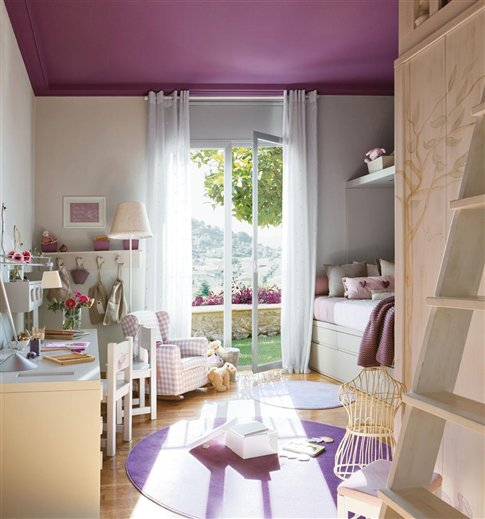 Blog o wn trzach dla dzieci inspiracje lawendowy pok j - Ideas para pintar habitaciones ...