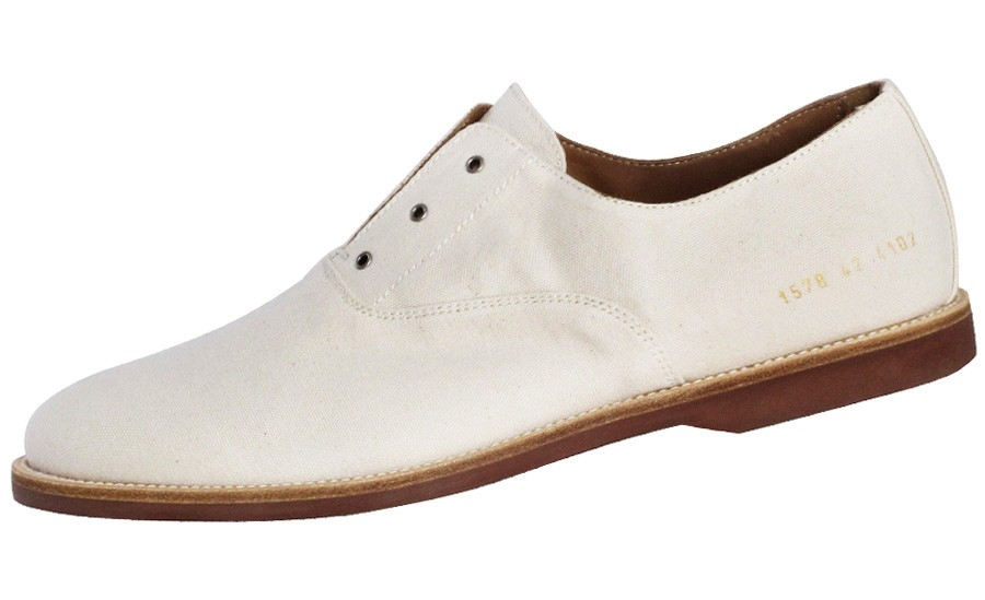 a of style findings common projects canvas dress shoe