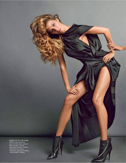 Gisele Bundchen Vogue Paris Nov 2013 Magazine Hot Photos ...