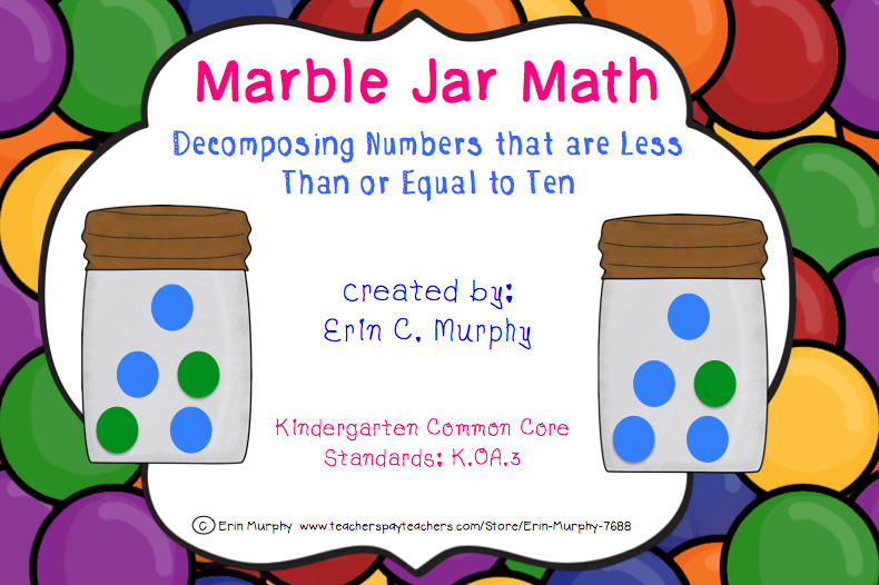 http://www.teacherspayteachers.com/Product/Marble-Jar-Math-KOA3-1255249