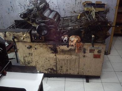 harga jual mesin offset printing murah