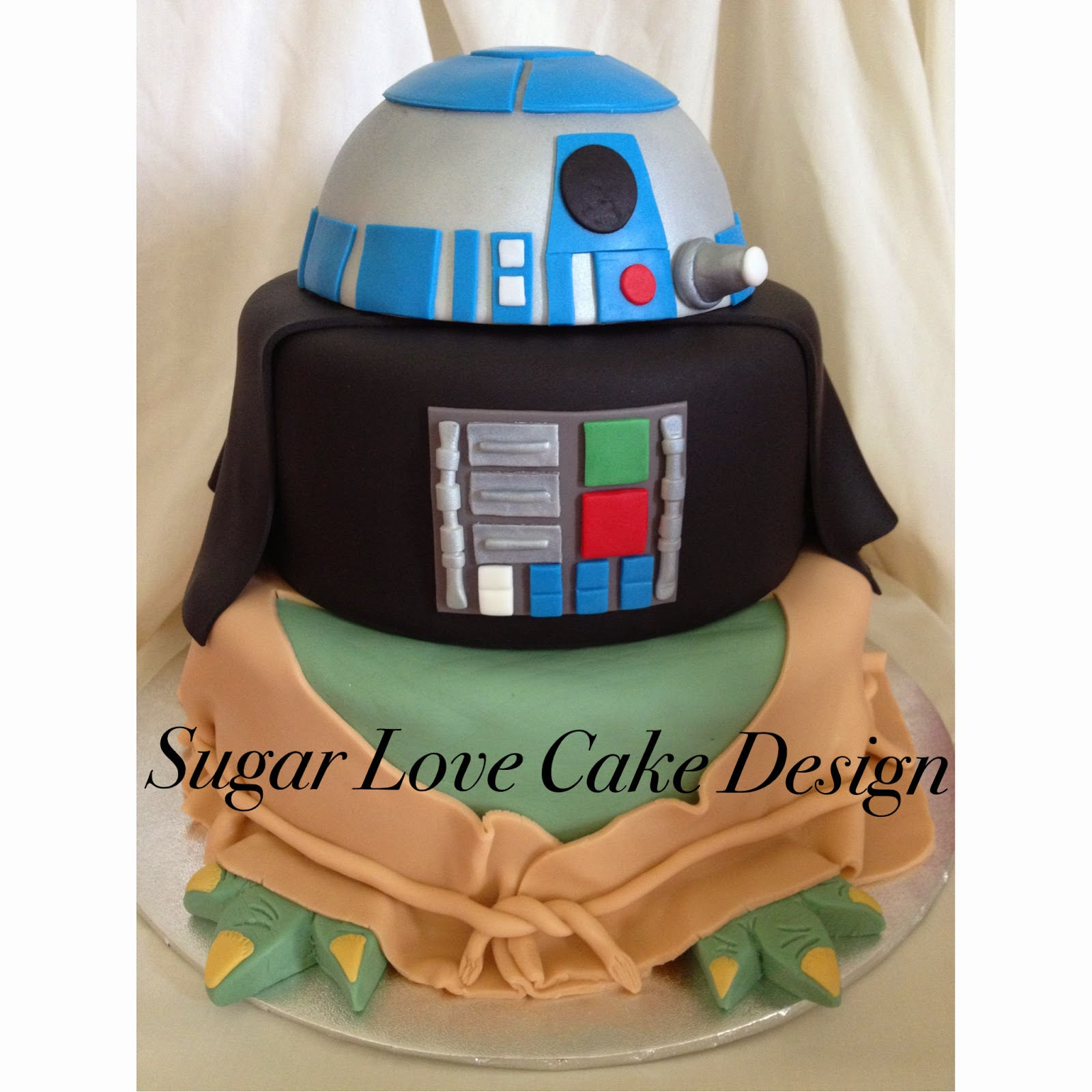 Images Of A Star Wars Cake : Sugar Love Cake Design: Star Wars cake