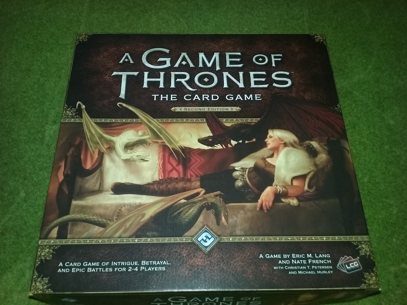 A Game of Thrones Catan: Brotherhood of the Watch Unboxing ...
