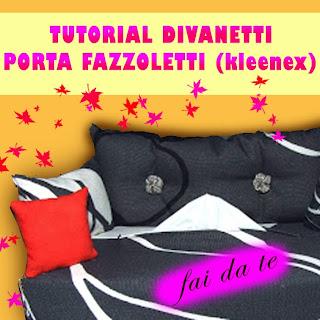 Divanetto porta fazzoletti kleenex fai da te tutorial for Porta kleenex feltro