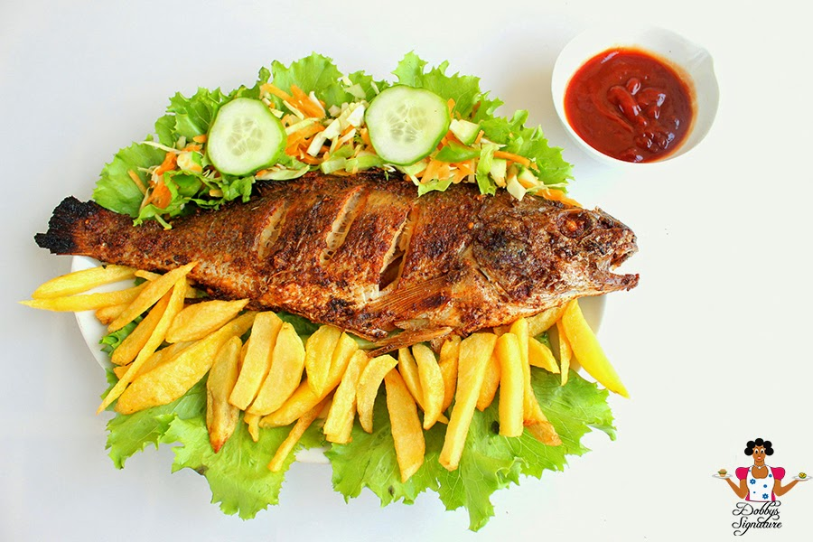 Kfb foodie talk how to make home made grilled fish kemi for The fish grill