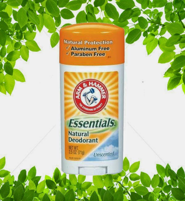 Arm & Hammer Essentials Natural Deodorant, Unscented