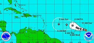 La debilitada tormenta Danny se degradará hoy a depresión tropical