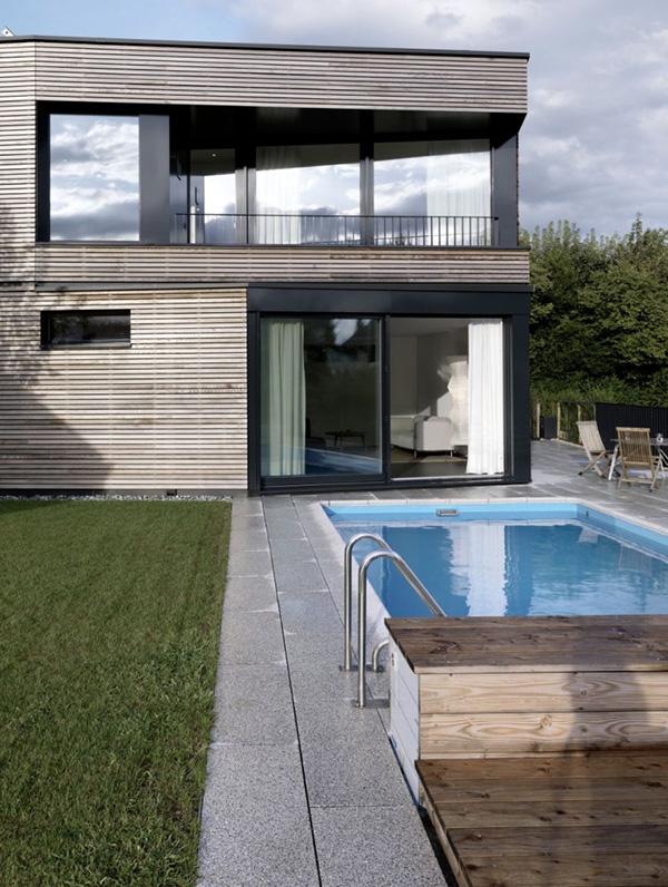 Casas minimalistas y modernas casa minimalista en suiza for Casa minimalista 6 x 12