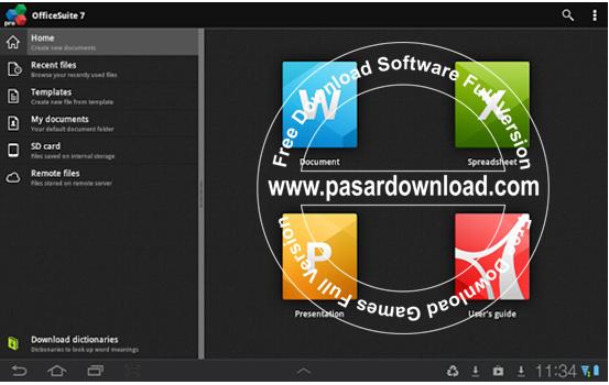 Download Gratis Android OfficeSuite Pro 7 PDF & Fonts v7.4.1610
