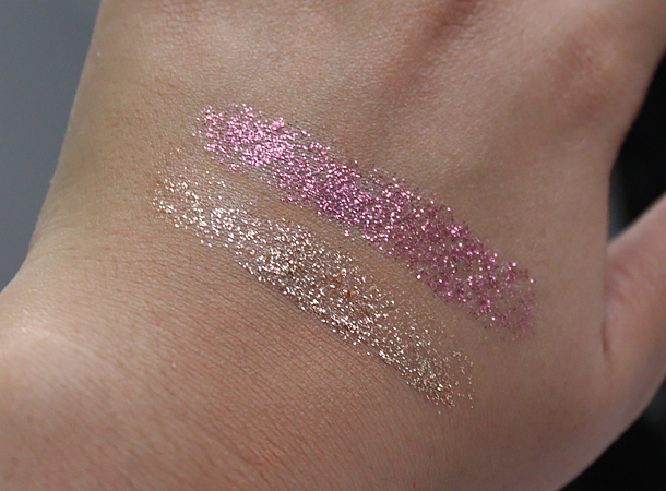wet'n'wild color icon glitter eyeshadow singles brass groupie review