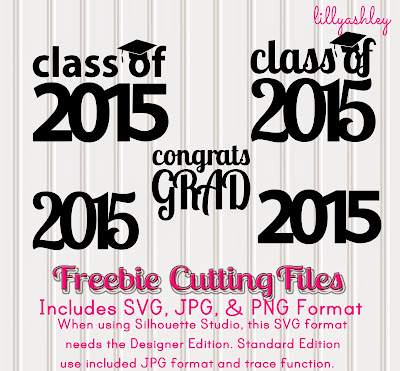 free Silhouette cutting files elements