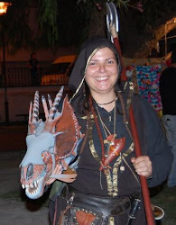 Caçadora de dragões e druidiza, Awen