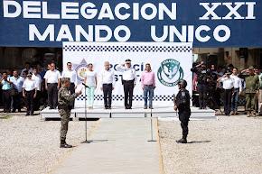 Rotación de mandos de Policía Estatal en Córdoba y Fortín, para mantener avances y logros en seguri