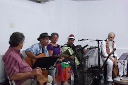 Recital Poético no Auditório do Hotel JK de Patos-PB com o Grupo de Artistas de João Pessoa-PB