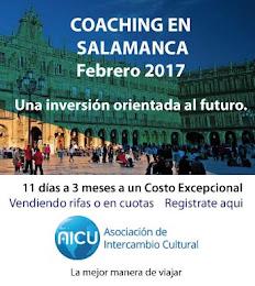 Programa Coaching en Universidad Salamanca- Viaja con la Comunidad