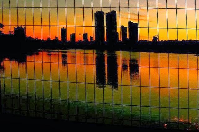 Parque das Nações Indígenas - Foto de Madalena Leles - Peneira do Sol - Foto Vencedora do Concurso - Você faz a foto da Brasil Telecom
