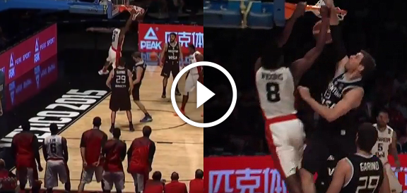 Andrew Wiggins DUNKS Over Andres Nocioni - 2015 FIBA Americas Championship (VIDEO)