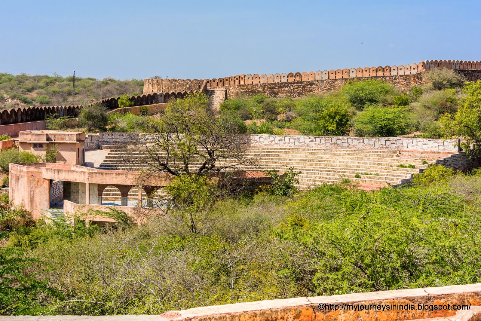 Amphitheatre in Nahargarh Fort Jaipur