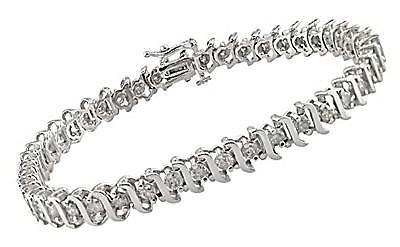 Ping For A Designer Diamond Tennis Bracelet