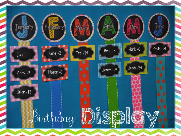 Classroom Decoration Birthday ~ Elementary shenanigans classroom decor patterns galore