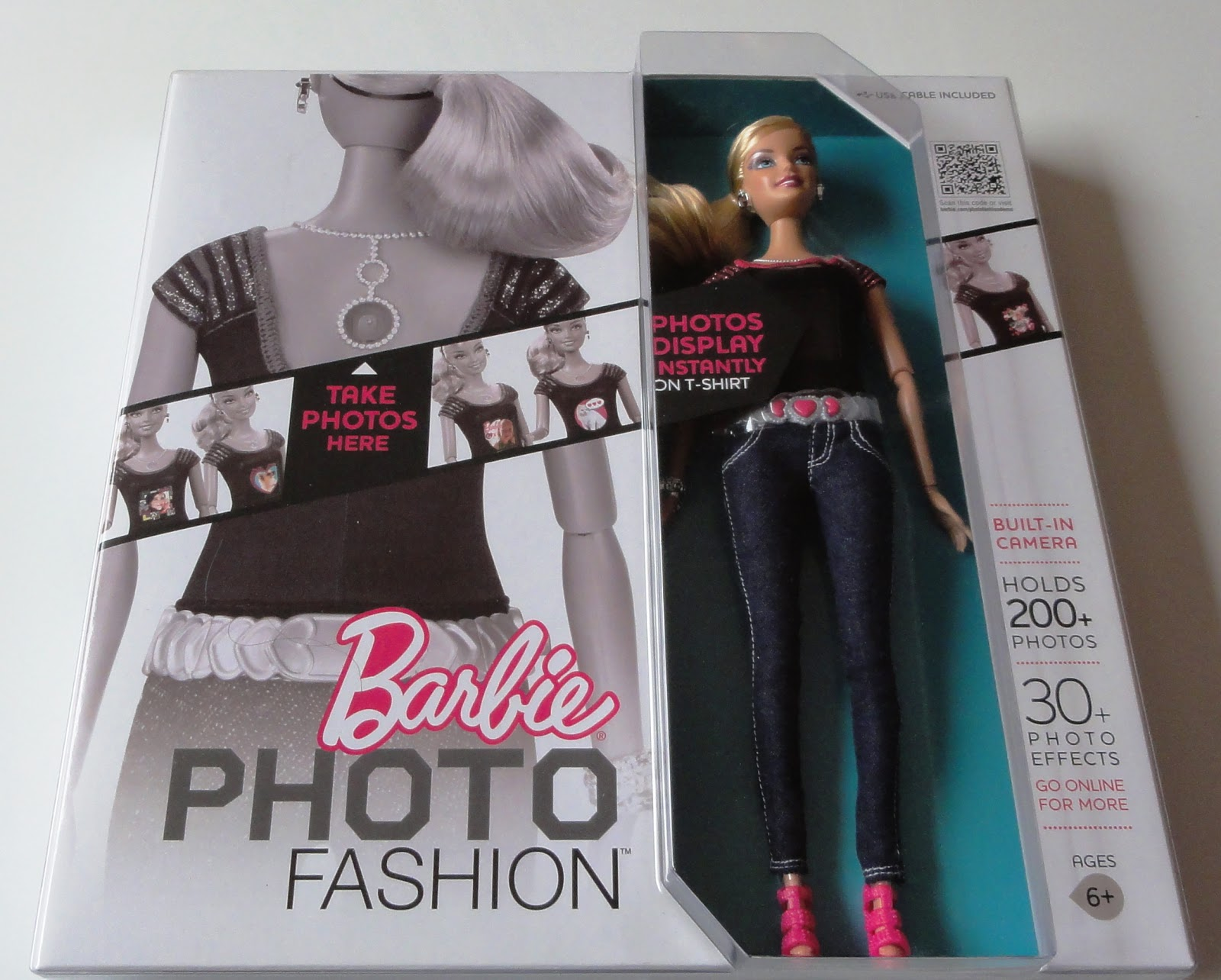 Barbie Photo Fashion Doll Review The box duly arrived
