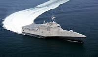 Independence class littoral combat ship