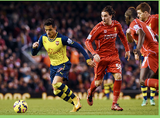Prensa inglesa dice que Alexis Sánchez fue bien ´´controlado´´ en amargo empate del Arsenal