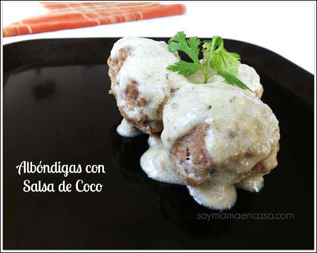 receta albondigas con coco