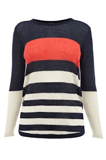 womens bold yoke top 4539933 lrg Stripes for Sunday