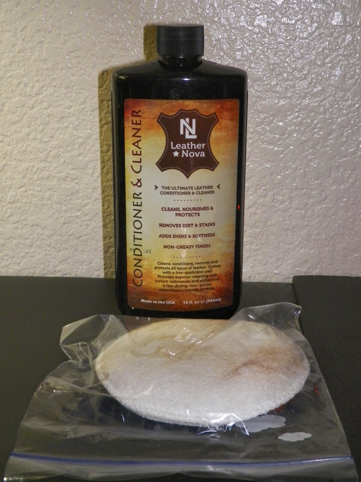 mygreatfinds: Leather Nova Leather Conditioner, Leather Cleaner ...