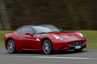 Ferrari California track day