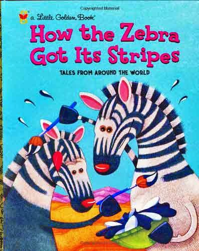 Retired now what february 2015 how the zebra got its stripes little golden book fandeluxe Gallery