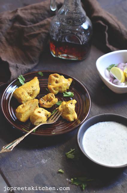 Achari Murg Tikka / Achari Chicken Tikka