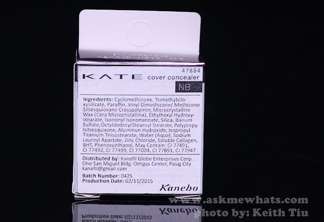 A photo of Kate Cover Concealer for COVER in NB box