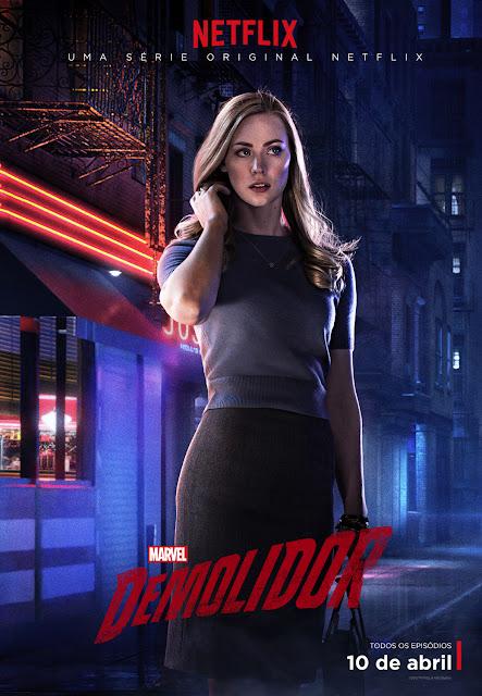 Netflix divulga novos posteres com os personagens principais da série DAREDEVIL da Marvel