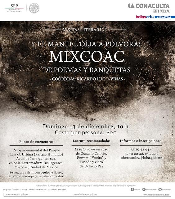 Recorrido literario por el poético Mixcoac