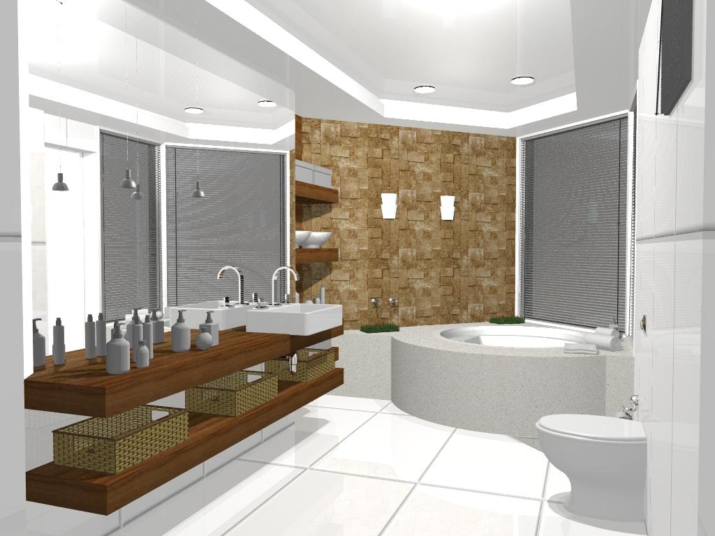 Fernanda Moschetta: Projetos Interiores Residenciais Banheiros #5F4224 1024 768
